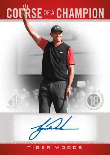 2021 SP Game Used Golf Cards 2