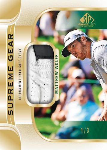 2021 SP Game Used Golf Cards 10