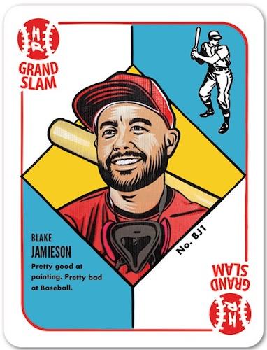 2021 Topps 1951 Topps Blake Jamieson Baseball Cards 1