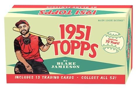 2021 Topps 1951 Topps Blake Jamieson Baseball Cards 4