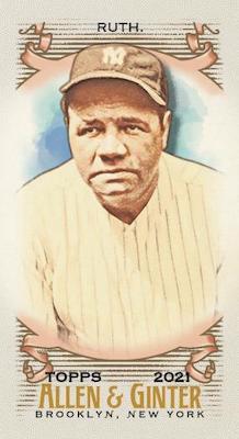 2021 Topps Allen & Ginter Baseball Cards 4