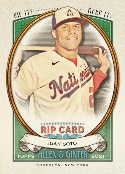 2021 Topps Allen & Ginter Baseball Cards 12