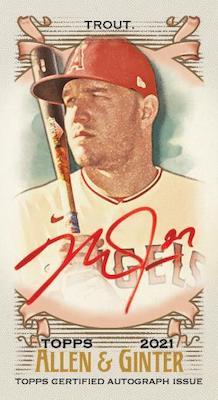2021 Topps Allen & Ginter Baseball Cards 11