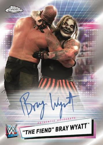 2021 Topps Chrome WWE Wrestling Cards 6