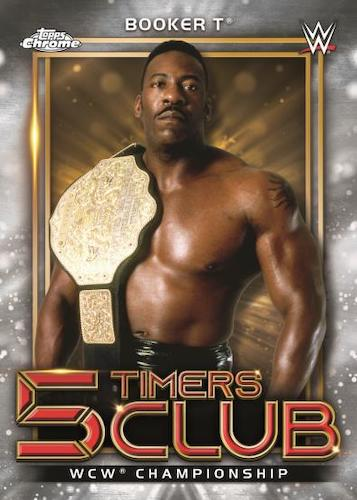 2021 Topps Chrome WWE Wrestling Cards 4