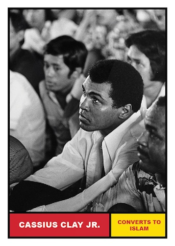 2021 Topps Muhammad Ali The People's Champ Collection Cards 4