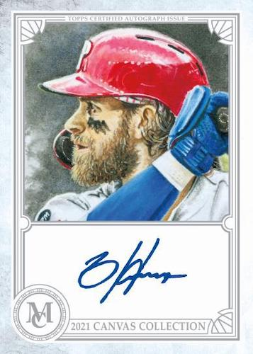 2021 Topps Museum Collection Baseball Cards - Checklist Added 5