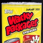 2021 Topps Wacky Packages Exclusive Trading Cards - February Monthly Series