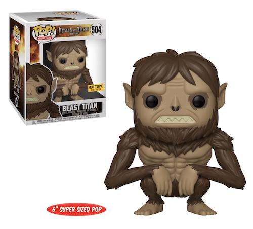 Ultimate Funko Pop Attack on Titan Figures Checklist and Gallery 20