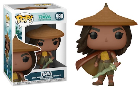 Funko Pop Raya and the Last Dragon Figures 1