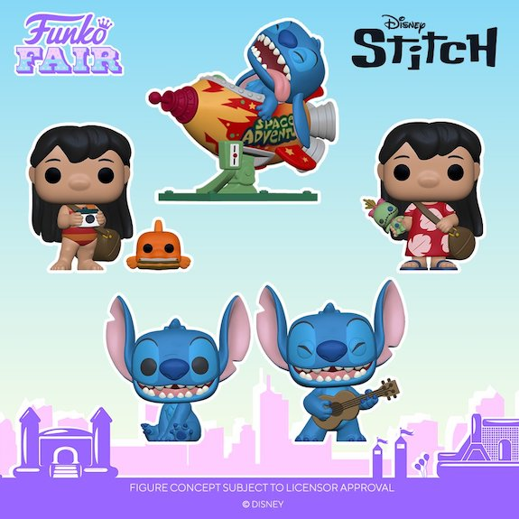 Ultimate Funko Pop Lilo and Stitch Figures Checklist and Gallery 23