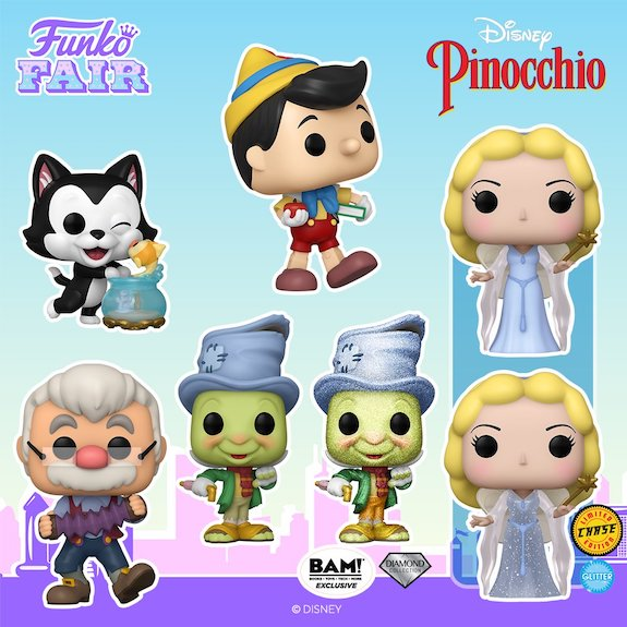 Ultimate Funko Pop Pinocchio Figures Checklist and Gallery 5