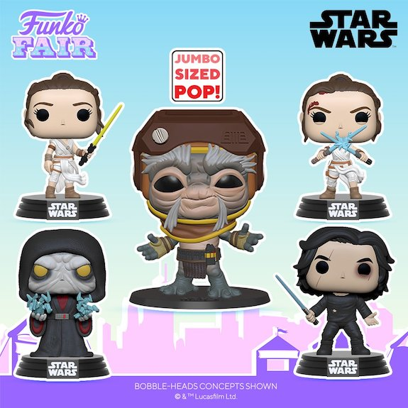 Funko Pop Star Wars The Rise of Skywalker Figures 36