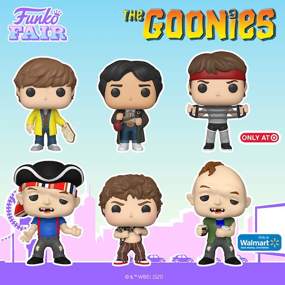 Ultimate Funko Pop The Goonies Figures Gallery and Checklist 7