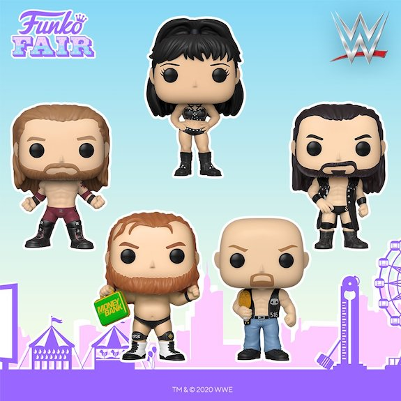 Ultimate Funko Pop WWE Wrestling Figures Checklist and Gallery 117