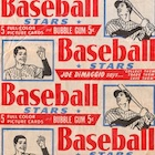 1953 Bowman Baseball Cards - Color and Black & White Series