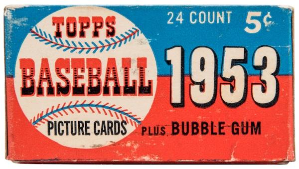 1953 Topps Baseball Cards 3