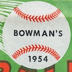 1954 Bowman Baseball Cards