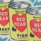 1954 Red Heart Baseball Cards