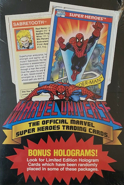 1990 Impel Marvel Universe Trading Cards 4