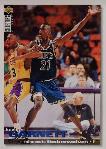 Ultimate Kevin Garnett Rookie Cards Checklist and Gallery 15