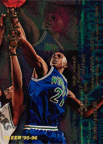 Ultimate Kevin Garnett Rookie Cards Checklist and Gallery 2