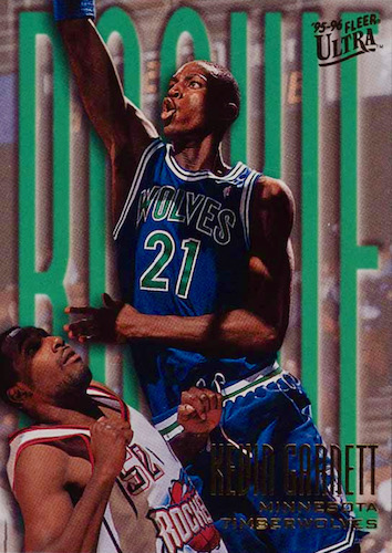 Ultimate Kevin Garnett Rookie Cards Checklist and Gallery 4