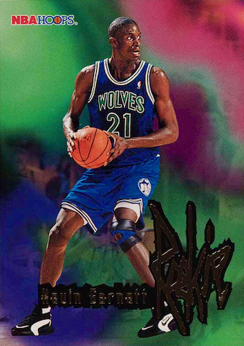 Ultimate Kevin Garnett Rookie Cards Checklist and Gallery 5