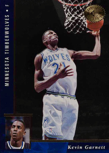 Ultimate Kevin Garnett Rookie Cards Checklist and Gallery 9