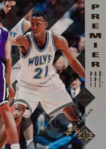 Ultimate Kevin Garnett Rookie Cards Checklist and Gallery 8