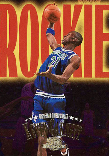 Ultimate Kevin Garnett Rookie Cards Checklist and Gallery 7