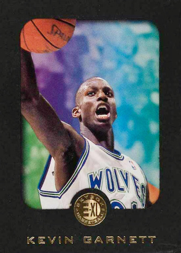 Ultimate Kevin Garnett Rookie Cards Checklist and Gallery 6
