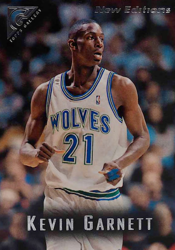 Ultimate Kevin Garnett Rookie Cards Checklist and Gallery 12