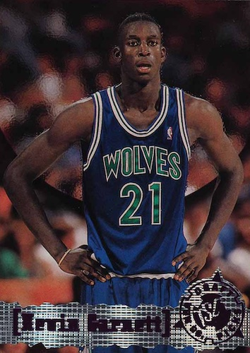 Ultimate Kevin Garnett Rookie Cards Checklist and Gallery 13