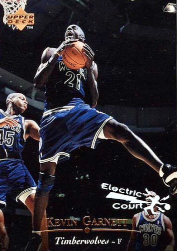 Ultimate Kevin Garnett Rookie Cards Checklist and Gallery 14