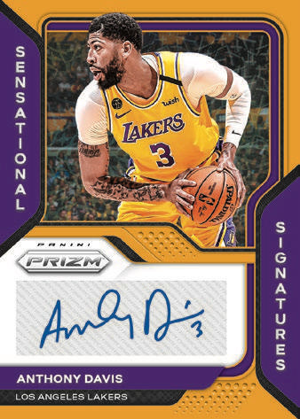 2020-21 Panini Prizm Basketball Cards - Checklist Added 8