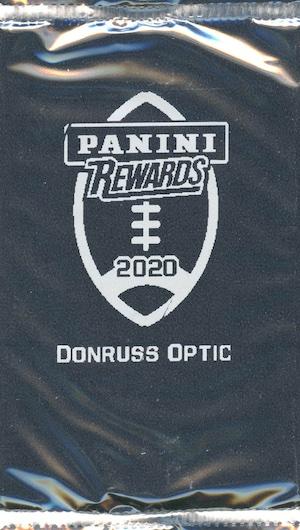 2020 Donruss Optic Football Cards 7