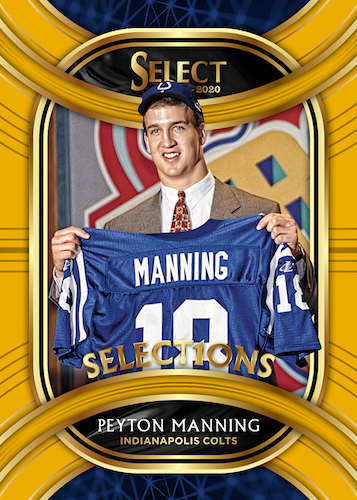 2020 Panini Select Football Cards - Checklist Added 7