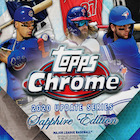 2020 Topps Chrome Update Series Sapphire Edition Baseball Cards
