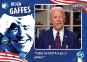 Decision 2020 Series 2 Political Trading Cards 2