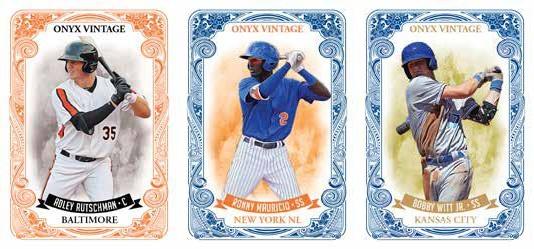 2021 Onyx Vintage Baseball Cards 1