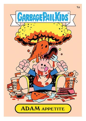 2021 Topps Garbage Pail Kids Food Fight GPK Series 1 Trading Cards 8