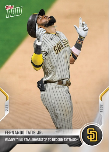 2021 Topps Now Baseball Cards - Spring Training 2