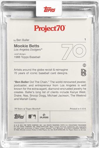 2021 Topps Project70 Baseball Cards Checklist Breakdown Guide 2