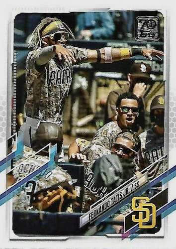 2021 Topps Series 1 Baseball Variations Gallery and Checklist 4