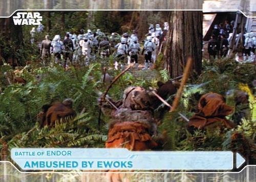 2021 Topps Star Wars Battle Plans Trading Cards 3