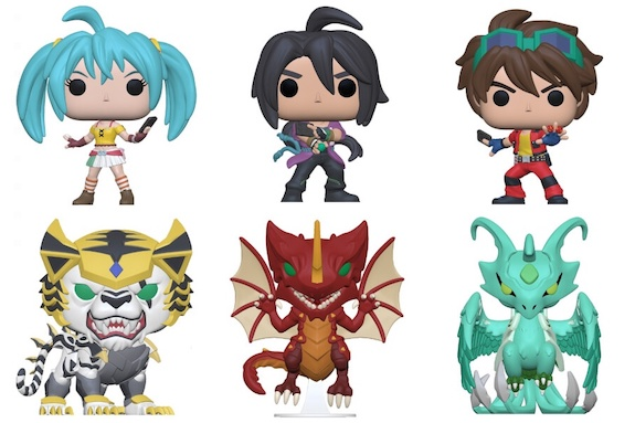 Funko Pop Bakugan Figures 1