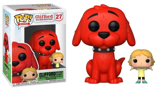 Funko Pop Clifford the Big Red Dog Figures 1