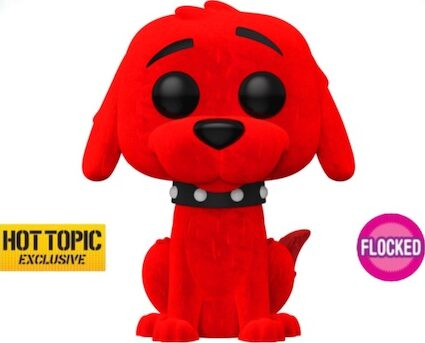 Funko Pop Clifford the Big Red Dog Figures 2