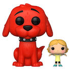 Funko Pop Clifford the Big Red Dog Figures
